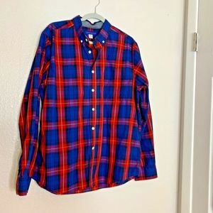 Sears Simply Styled Mens Sz XL Long Sleeve Button